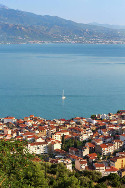Peloponnese Photograph - Nafpaktos, West Greece, Greece by Panoramic Images