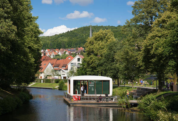 Photograph - Nagold Baden-wuerttemberg Germany With Haefele Functionality Cube by Matthias Hauser