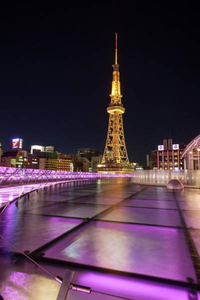 Nagoya Tv Tower At Night Art Print