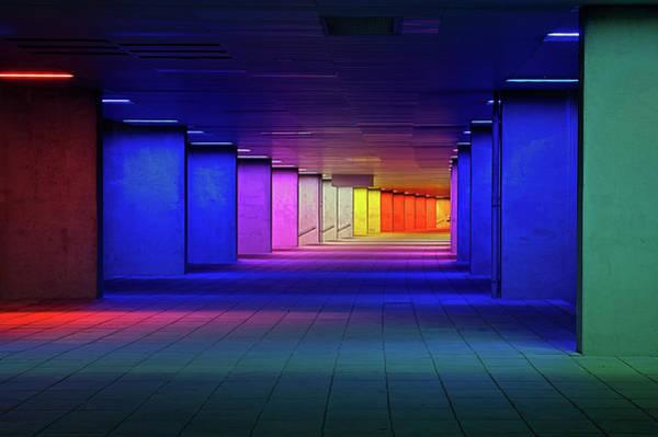 Columns Wall Art - Photograph - Nai Rotterdam by Oliver Buchmann