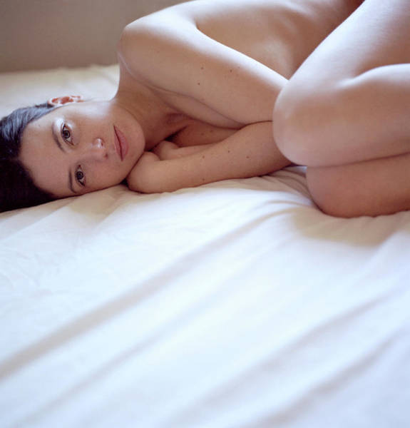 Anatomical Position Wall Art - Photograph - Naked Woman by Cecilia Magill/science Photo Library