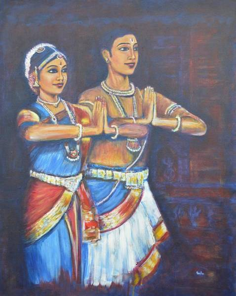 Namaskaaramu Art Print