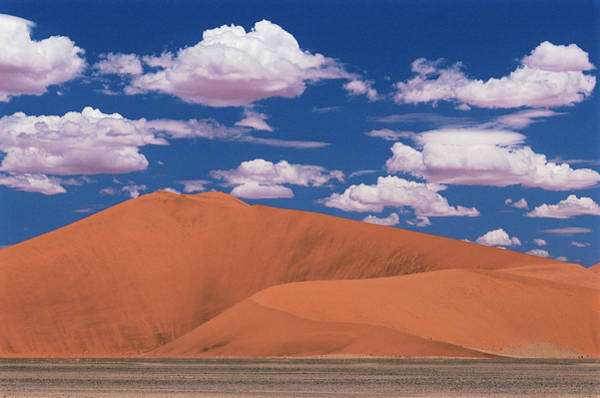 Cumulus Photograph - Namib Desert by Sinclair Stammers/science Photo Library