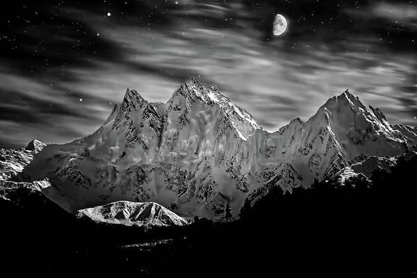 Snow Photograph - Nanga Parbat by Uh Photography