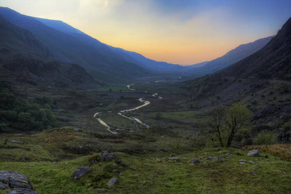 Photograph - Nant Ffrancon Pass by Ian Mitchell