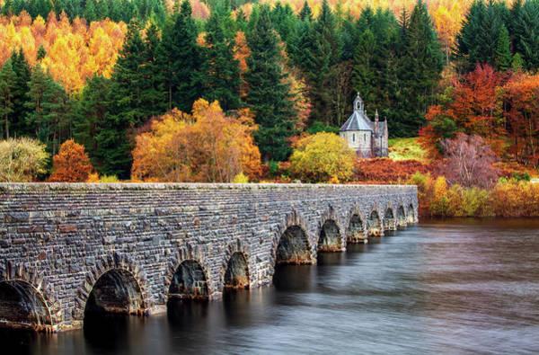 Chapel Bridge Photograph - Nantgwyllt Chapel by Joe Daniel Price
