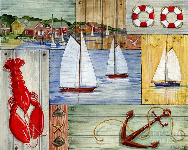 Wall Art - Painting - Nantucket I by Paul Brent