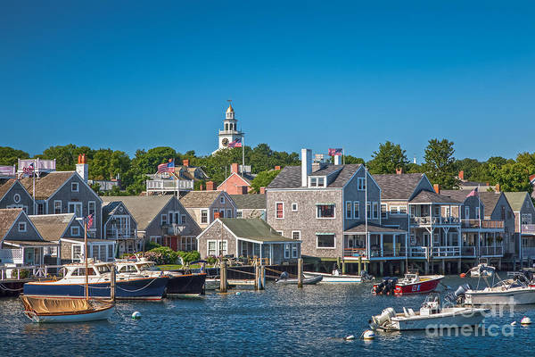 Photograph - Nantucket Town by Susan Cole Kelly