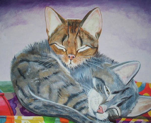 Painting - Nap Time by Thomas J Herring