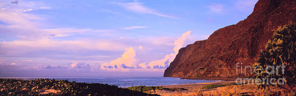 Photograph - Napali Coast In Kauai by Les Palenik