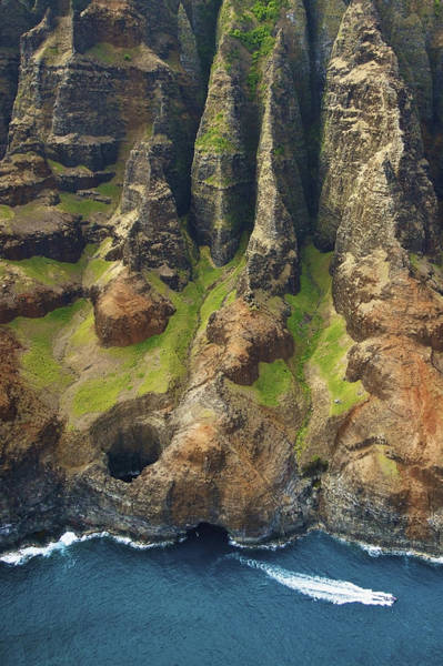 Wall Art - Photograph - Napali Coastal Lava Tube by Kicka Witte