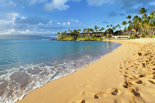 Maui Photograph - Napili Bay, Maui by Michaelutech