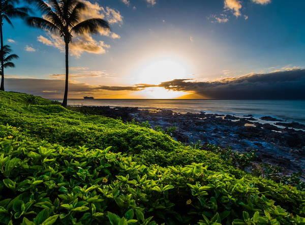 Napili Bay Photograph - Napili Bay Sunset by Russell Mann