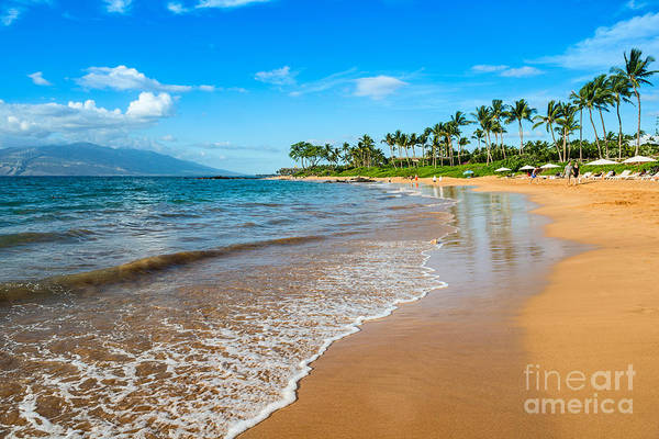 Napili Bay Photograph - Napili Beach Paradise by Jamie Pham