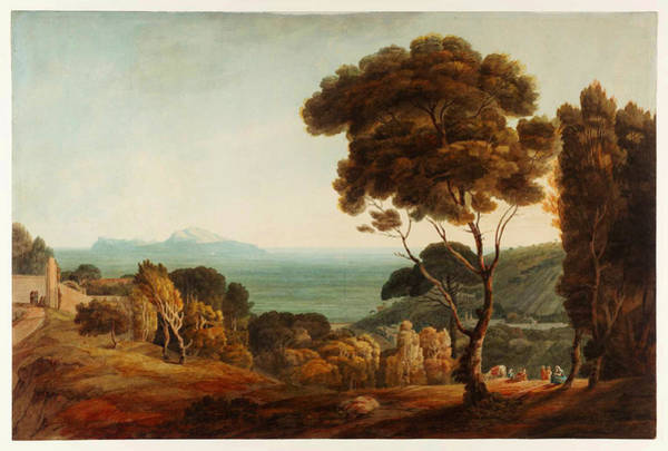 Painting - Naples And Capri  by Celestial Images