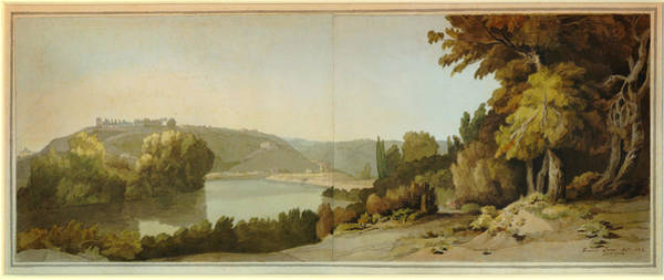 Painting - Veduta Del Tevere   by Celestial Images
