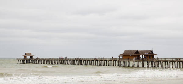 Photograph - Naples Fishing Pier by Les Palenik