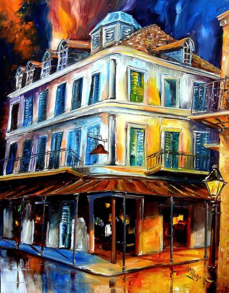 Wall Art - Painting - Napoleon House by Diane Millsap