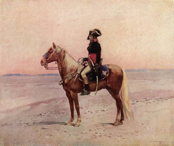 Wall Art - Drawing - Napoleon I During The Egyptian by Mary Evans Picture Library