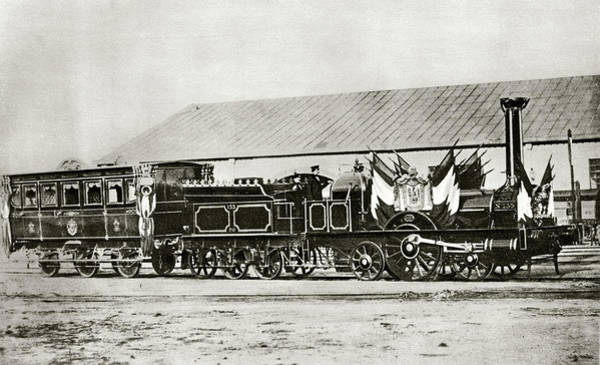 1851 Photograph - Napoleon IIi's Train by Cci Archives