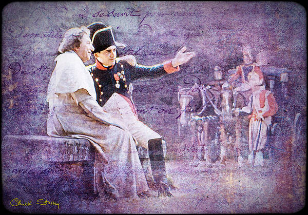 Photograph - Napoleon With The Pope by Chuck Staley