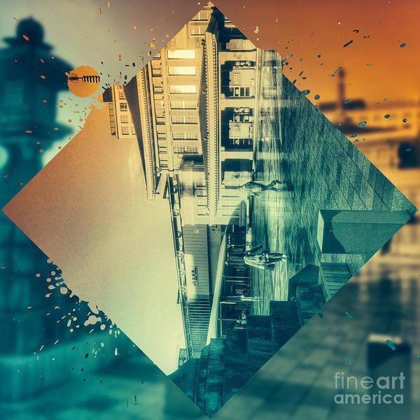 Digital Art - Nara Train Station by Beverly Claire Kaiya