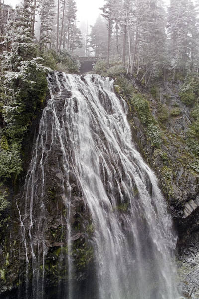 Photograph - Narada Falls Mt Rainier by Greg Reed