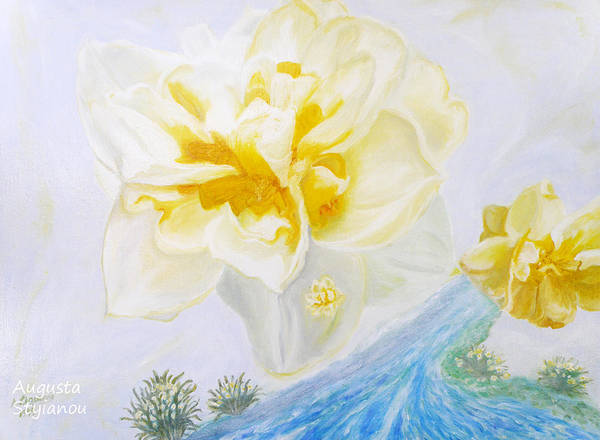 Painting - Narcissus by Augusta Stylianou