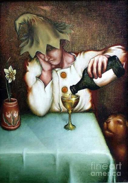 Narcis Painting - Narcissus by Vsevolod Poliohin