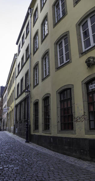 Germania Photograph - Narrow Alley In Cologne by Teresa Mucha