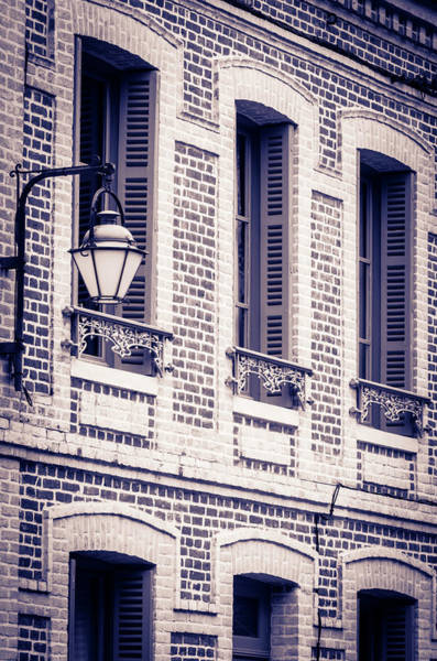 Wall Art - Photograph - Narrow Street And Houses, Honfleur by Russ Bishop
