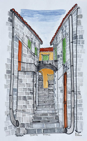 Wall Art - Photograph - Narrow Streets With 16th Century by Richard Lawrence