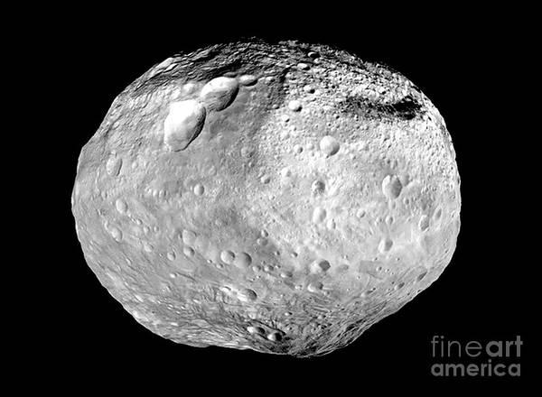 Photograph - Nasa Asteroid Vesta by Rose Santuci-Sofranko