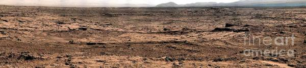 Photograph - Nasa Mars Panorama From The Mars Rover by Rose Santuci-Sofranko