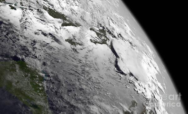 Photograph - Nasa Remnants Of Tropical Storm Chantal by Rose Santuci-Sofranko
