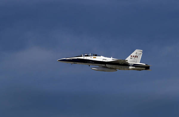 Photograph - Nasa's F18's Final Salute To Endeavor by Denise Dube