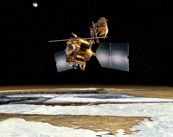 Reconnaissance Photograph - Nasa's Mars Reconnaissance Orbiter by Nasa/science Photo Library