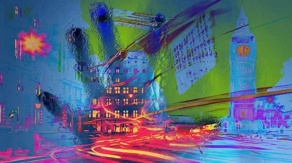 Digital Art - Nasdaq by Catherine Lott