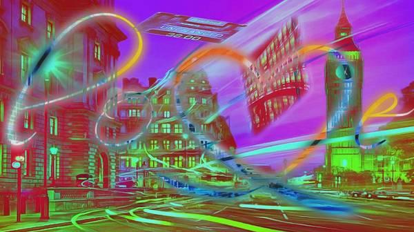 Digital Art - Nasdaq Love by Catherine Lott