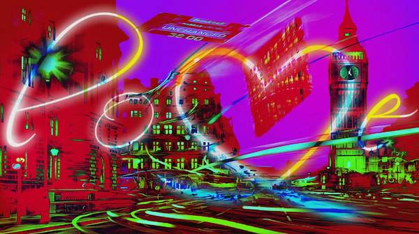 Digital Art - Nasdaq One Dollar Love by Catherine Lott