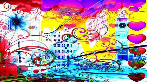 Digital Art - Nasdaq Whirls by Catherine Lott