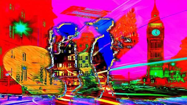 Digital Art - Nasdaqs Future by Catherine Lott