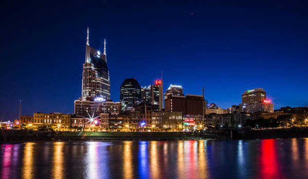 Photograph - Nashville Magic Hour  by John McGraw