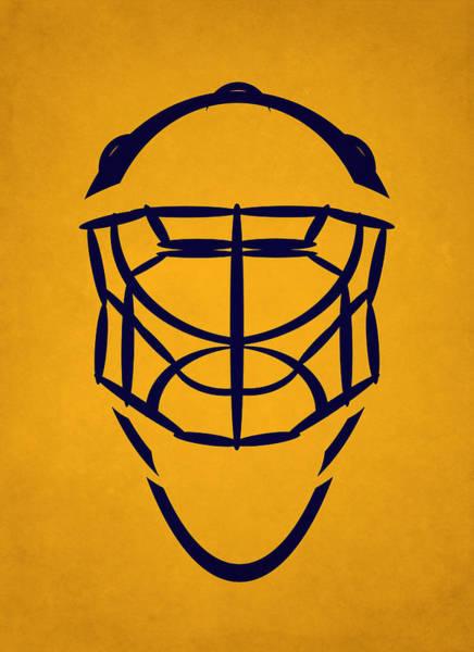 Wall Art - Photograph - Nashville Predators Goalie Mask by Joe Hamilton
