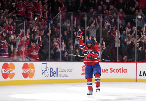Montreal Photograph - Nashville Predators V Montreal Canadiens by Francois Lacasse