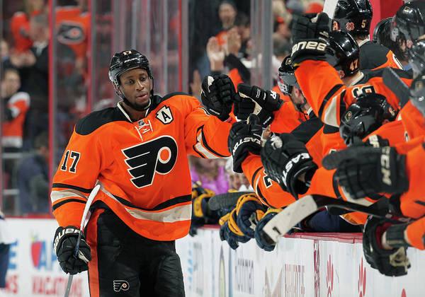 National Hockey League Photograph - Nashville Predators V Philadelphia by Len Redkoles