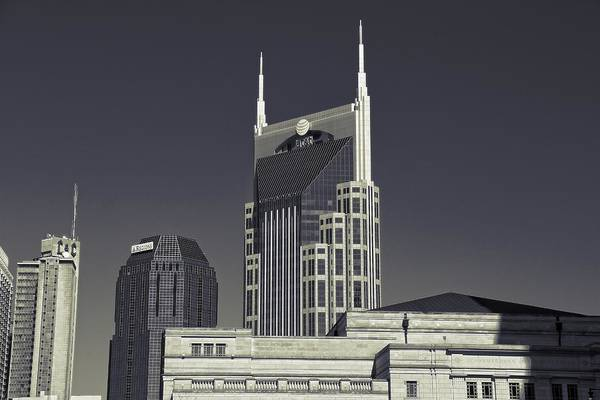 Wall Art - Photograph - Nashville Tennessee Batman Building by Dan Sproul