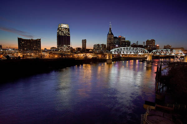 Photograph - Nashville's River by John Magyar Photography