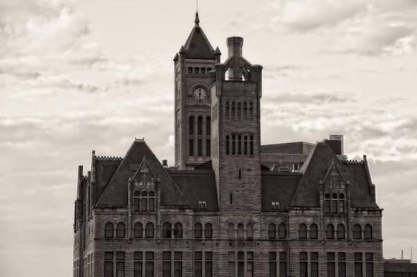 Photograph - Nashville's Union Station by Dan Sproul