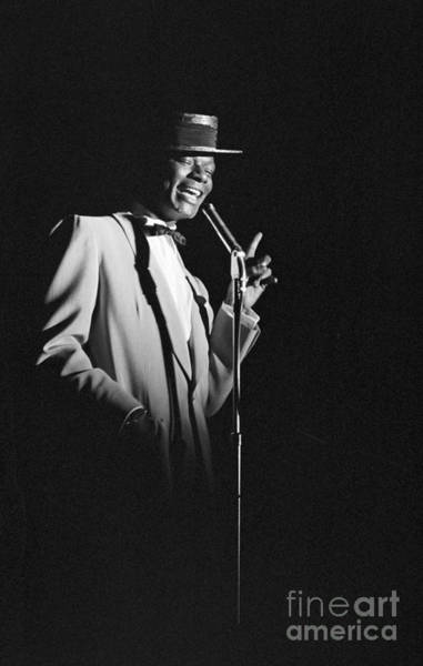 Vocalist Photograph - Nat King Cole Performing In 1954 by The Harrington Collection